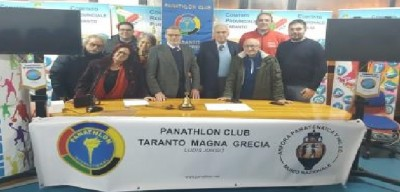 Cataldo Quero nel Panathlon International Magna Grecia