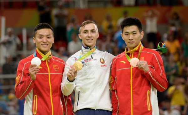 Rio 2016  - Hancharou ends a decade of Chinese supremacy  in Trampoline with Olympic gold