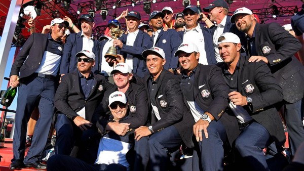 Hazeltine hammering as the US beats Europe in the Ryder Cup