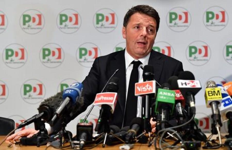 Matteo Renzi si dimette