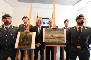 Two Van Gogh paintings recovered from Neapolitan Camorra