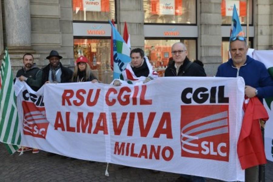 Almaviva, chiude la sede di Roma: 1.666 i licenziamenti