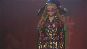 Gucci's fairytale collection hits Milan catwalk