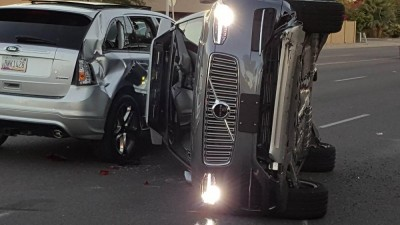 Uber's driverless car scheme hits the skids after Arizona crash
