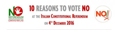 The reasons for the No! December 4 vote No Constitutional Referendum