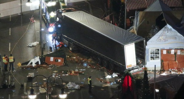 Tunisian suspect's fingerprints found in cab of Berlin truck attack