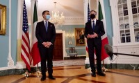 Luigi Di Maio con Anthony Blinken