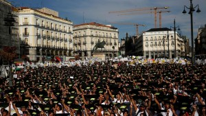 Thousands rally in Madrid against bullfighting