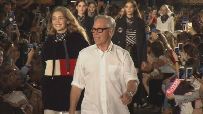 Tommy Hilfiger and Gigi Hadid launch fashion line in New York