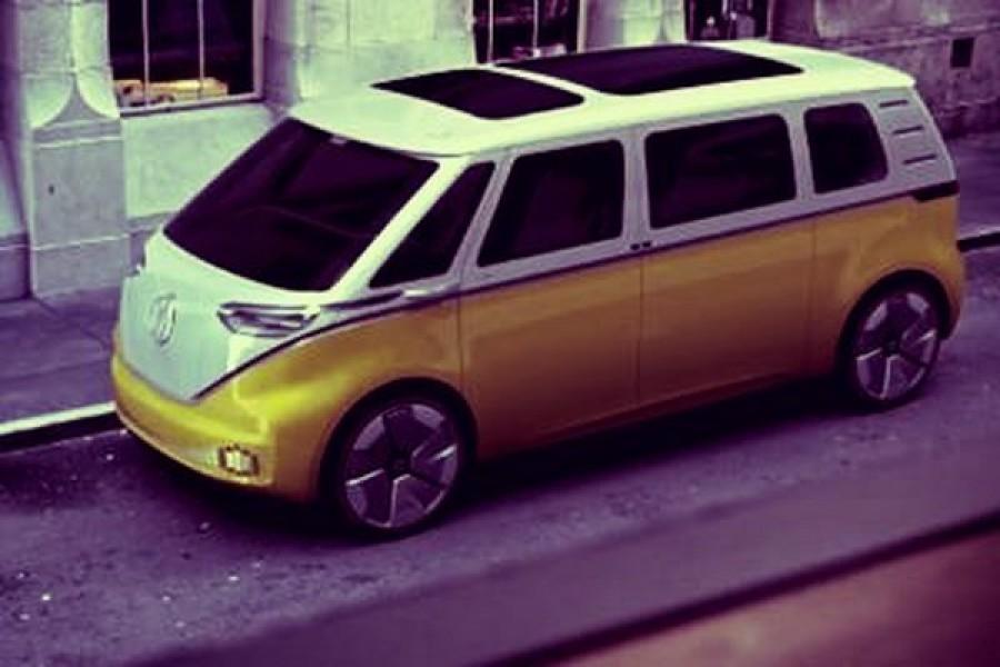 Il Transporter Bulli della Volkswagen rinasce in elettrico con ID Buzz
